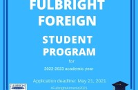 The U.S. Embassy Yerevan is pleased to announce the Fulbright Foreign Student Program competition